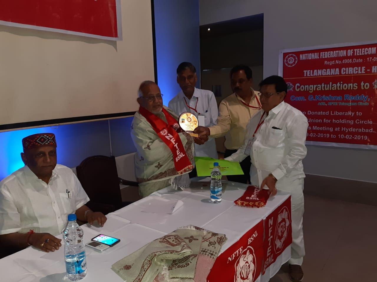 NFTE - BSNL Telangana